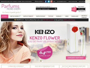 Parfums moins cher