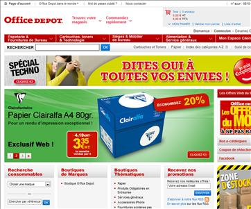 Office depot codes promo et r ductions pour - Coupon de reduction office depot ...