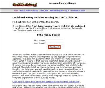 Cashunclaimed.com