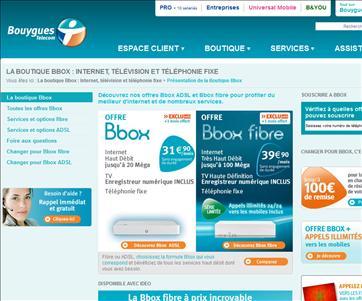 Bbox - FAI Bouygues Telecom